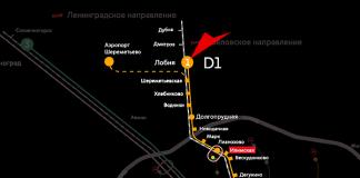 МЦД-1 Лобня
