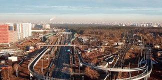 Внуковская развязка на Минском шоссе в Одинцово
