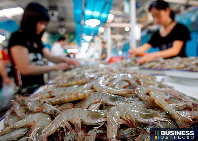 Морепродукты из Китая