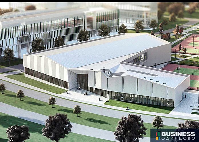 Теннисный центр в Сколково
