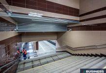 Тоннель на станции Славянский бульвар. Фото: портал мэра и правительства Москвы/Евгений Самарин
