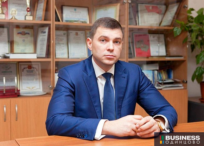 Главврач Одинцовской областной больницы Андрей Фадеев