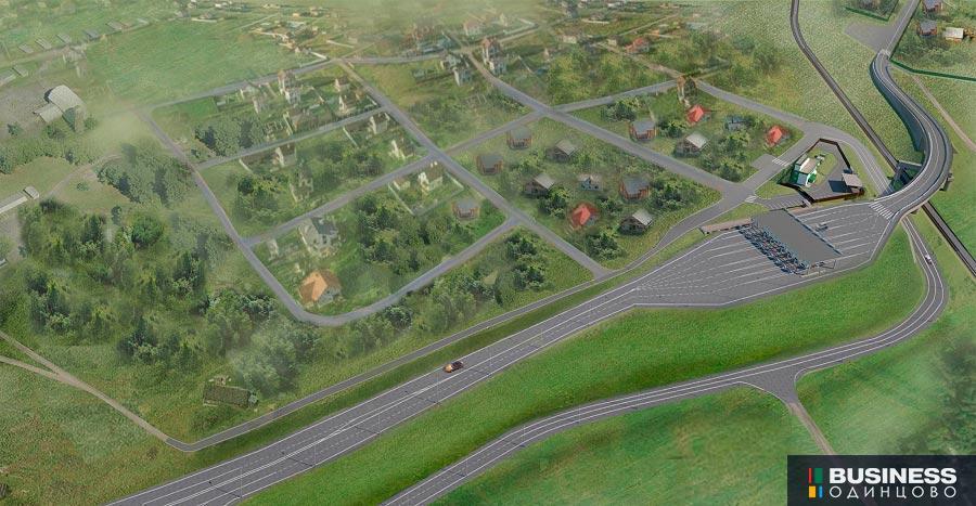 Строительство платного переезда в Саввинской Слободе