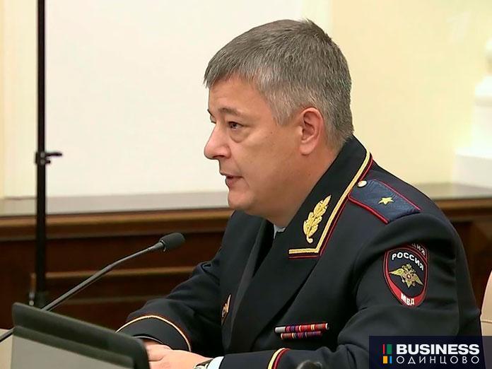 Руководитель столичного ГУ МВД Олег Баранов