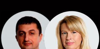 Владимир Чирахов и Мария Давыдова