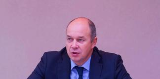 Глава столичного департамента информационных технологий Эдуард Лысенко