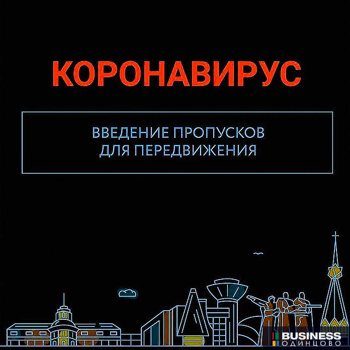 Пропуск для поездок в Москву
