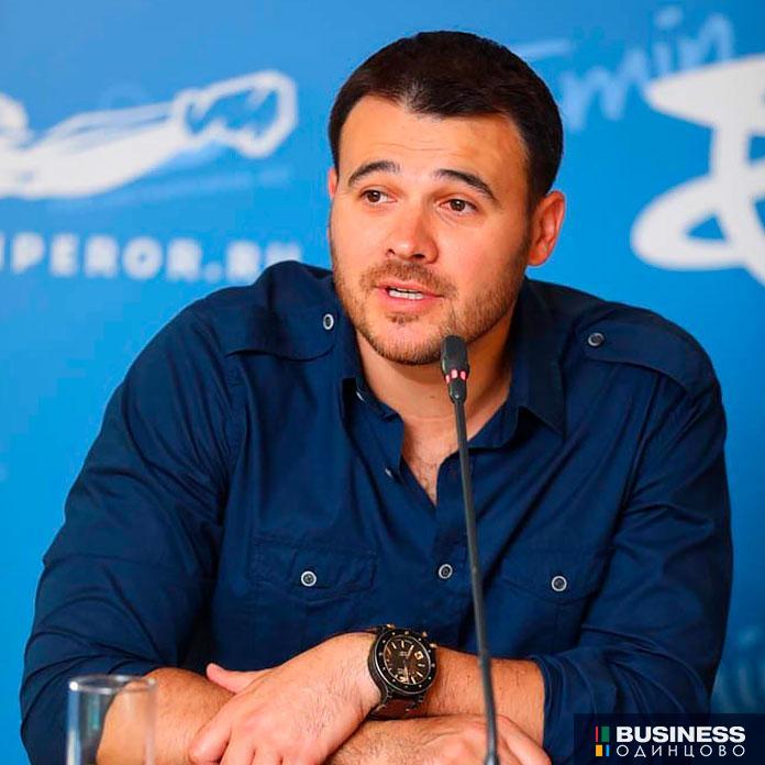 первый вице-президент Crocus Group Эмин Агаларов