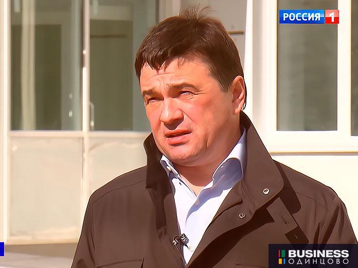 Губернатор Московской области А. Воробьев в эфире телеканала