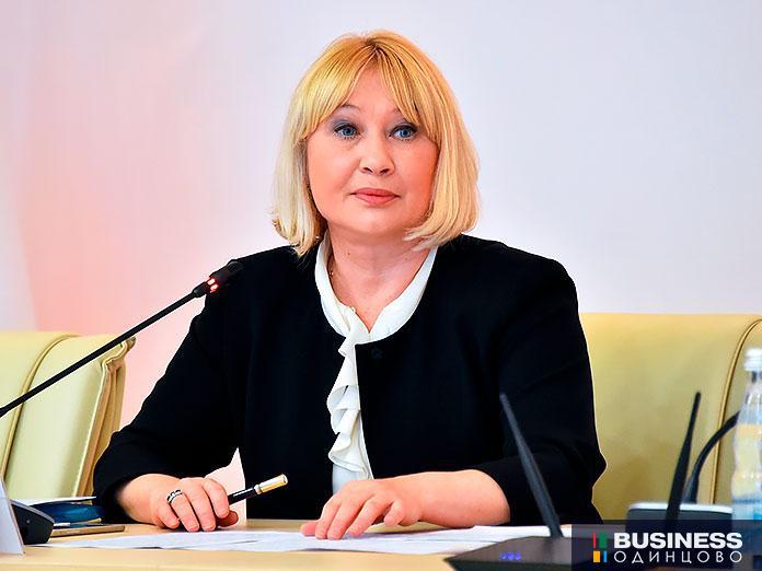 Министр социального развития Московской области Ирина Фаевская
