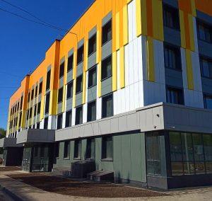 Реконструкция старого корпуса поликлиники №1 Одинцовской областной больницы