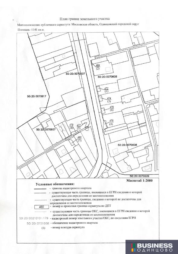 Карта земельных участков