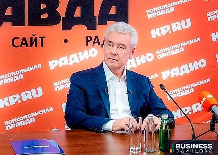 Собянин в эфире радио Комсомольская правда