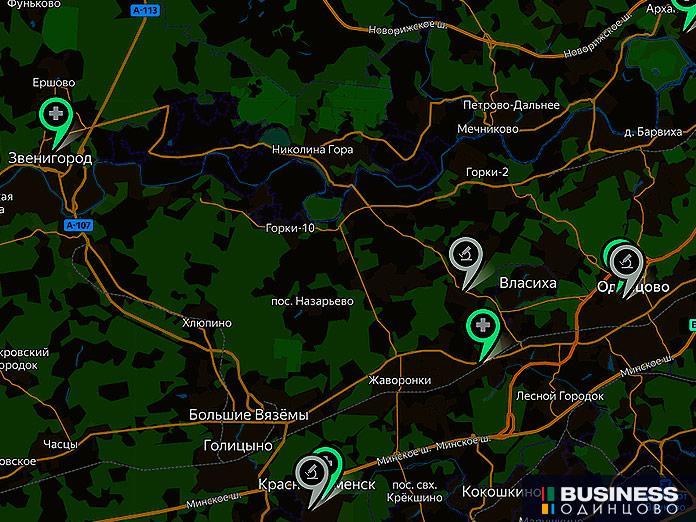 Где в Одинцовском округе принимают анализы на COVID-19, фото-1