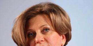 Анна Попова - Руководитель Федеральной службы по надзору в сфере защиты прав потребителей и благополучия человека (Роспотребнадзор)