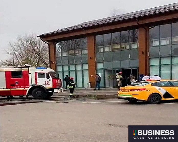 Попытка самосожжения в офисе Яндекс.Такси