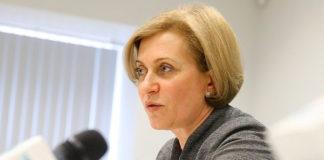Анна Попова — руководитель Федеральной службы по надзору в сфере защиты прав потребителей и благополучия человека