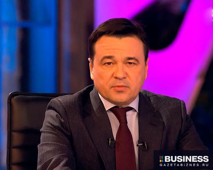 Андрей Воробьев в эфире телеканала