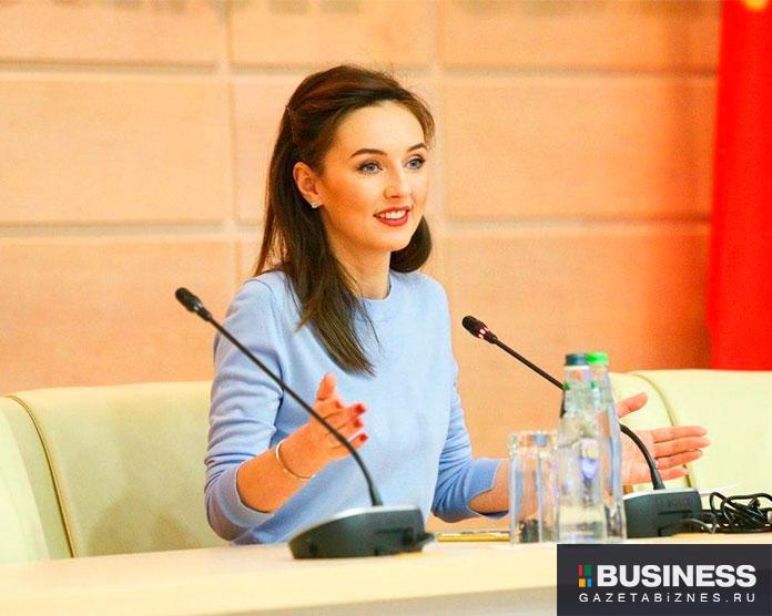 Министр образования Московской области Ирина Каклюгин