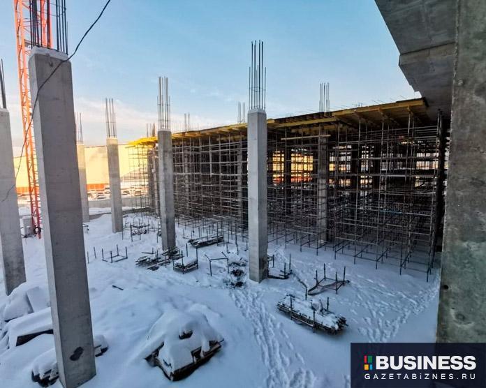 Строительство второго Леруа Мерлен в Одинцово