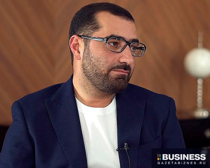 Грант Бабасян, основатель и Президент Общенационального Союза Индустрии Гостеприимства