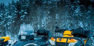 Снегоход и квадроцикл