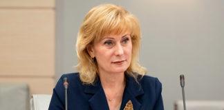 Инна Святенко - председатель Комитета Совета Федерации по социальной политике