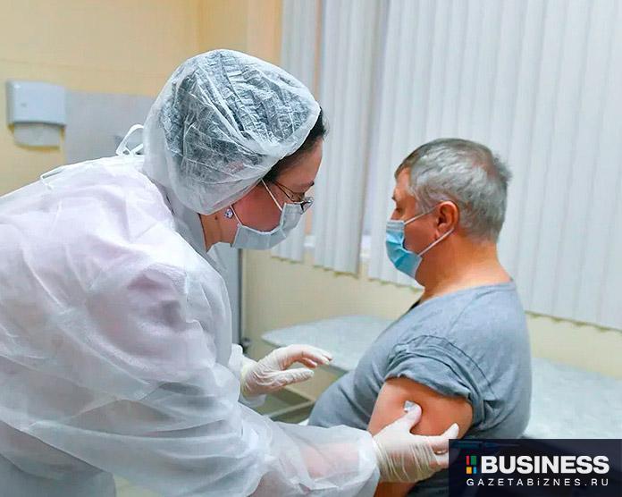Вакцинация от ковид. Фото: пресс-служба мэра Москвы