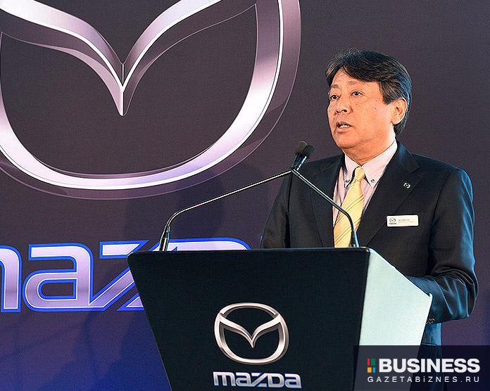 Акира Марумото, исполнительный директор Mazda Motor Corp