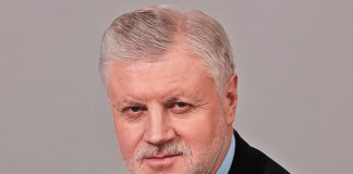 Сергей Миронов, лидер партии «Справедливая Россия»