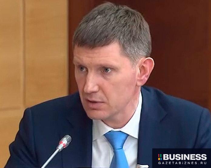 Максим Решетников, министр экономического развития России