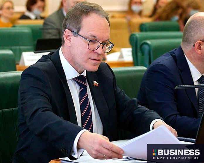 Александр Башкин, член комитета СФ по конституционному законодательству и госстроительству