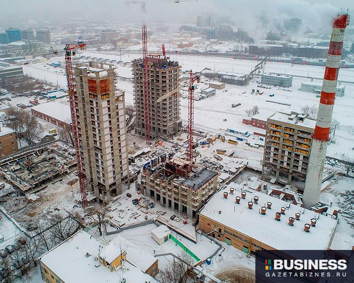 Ход строительства ЖК ЖК «Павелецкая Сити» по состоянию на март 2021 г.