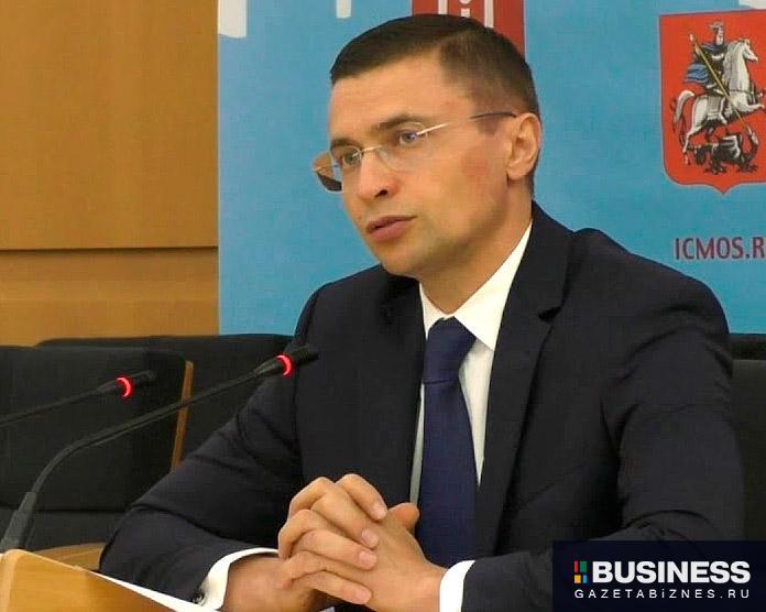 Рафик Загрутдинов, руководитель департамента строительства Москвы