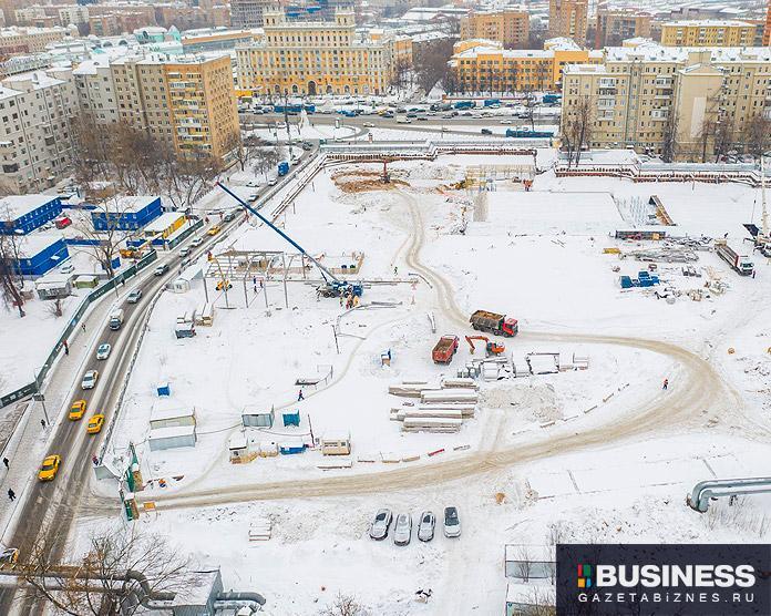 Ход строительства ЖК SLAVA по состоянию на март 2021 г.