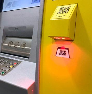Снятие денег в банкомате по QR-коду