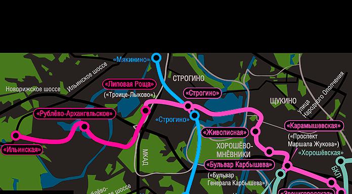 Рублёво-Архангельская линия метро