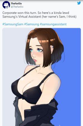 Samsung assistant Sam