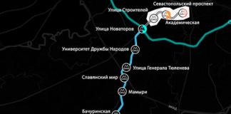 Троицкая ветка метро