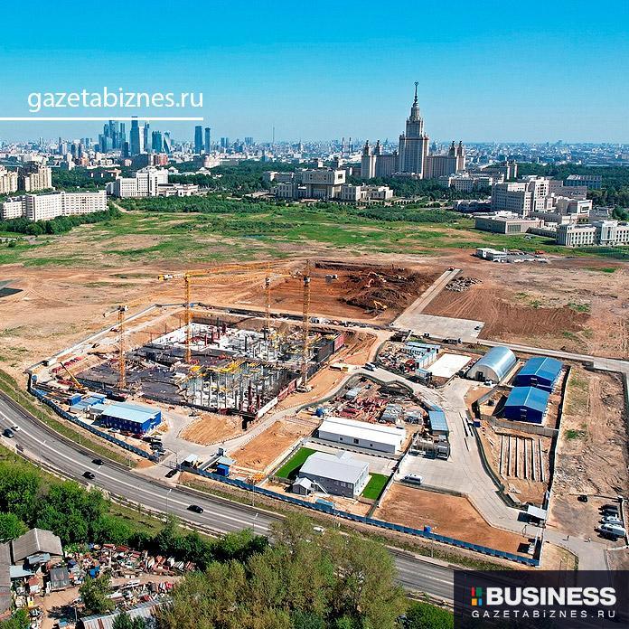 Старт строительства двух кластеров инновационного центра МГУ