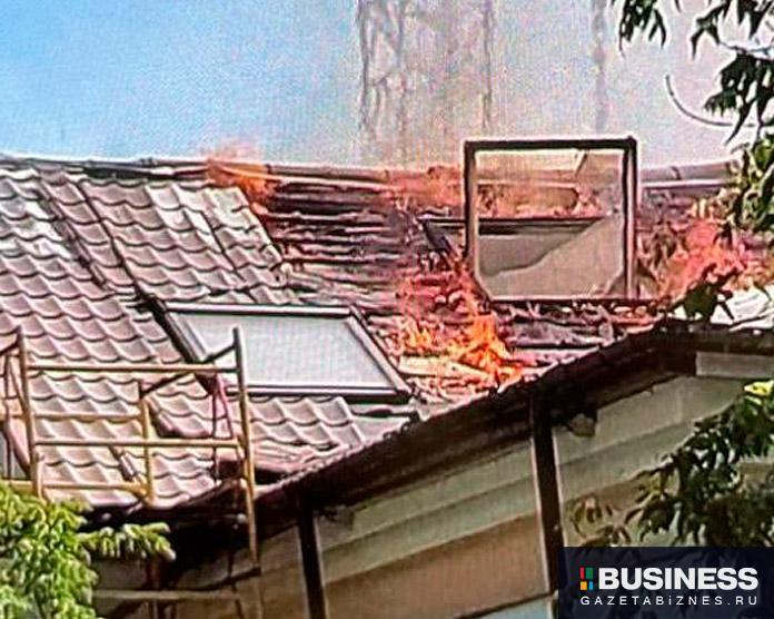 Пожар в офисе «Пегас Туристик» в Москве