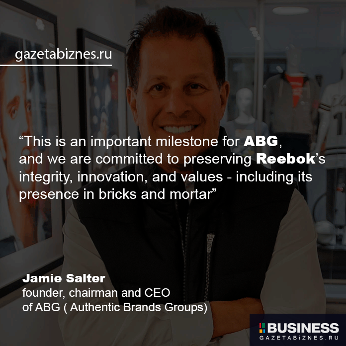 Jamie Salter, founder, chairman and CEO of ABG