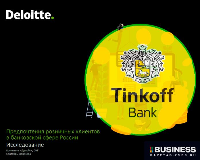 Тинькофф Банк в исследовании Deloitte