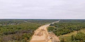 Строительство платной дороги М12 Москва-Казань